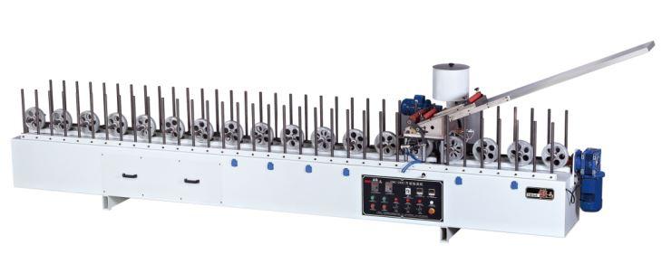 EVA hotmelt glue veneer profile wrapping machine fmc 300